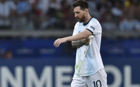 You're disrespectful – Dani Alves lambasts Messi for outburst at Copa America/newsheadline247