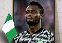 Mikel announces retirement from international football at 32