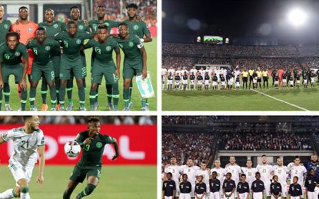 Algeria beat Nigeria to reach 2019 AFCON finals/newsheadline247