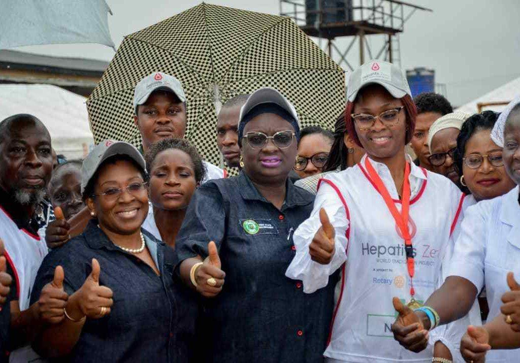 Ogun first lady, Deputy Gov. Salako-Oyedele flag off statewide campaign against Hepatitis