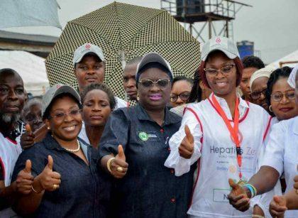 Ogun first lady, Deputy Gov. Salako-Oyedele flag off statewide campaign against Hepatitis/newsheadline247.com