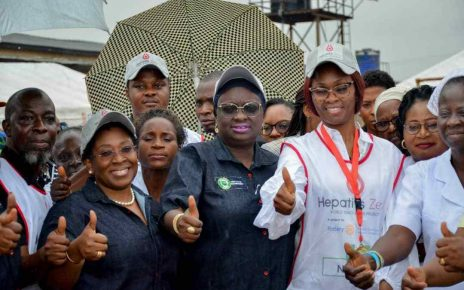 Ogun first lady, Deputy Gov. Salako-Oyedele flag off statewide campaign against Hepatitis/newsheadline247.com
