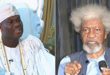RUGA: Ooni, Soyinka respond to threats by Northern youths/newsheadline247