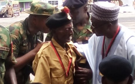 104-year-old World War ll veteran, Aduku urges FG to pay his pension/newsheadline247