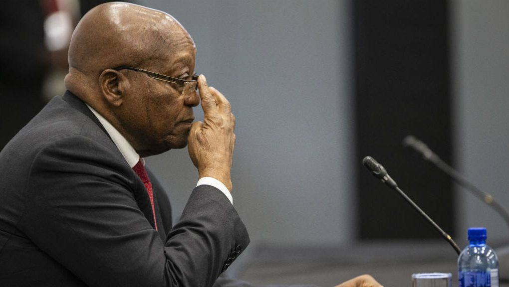 South Africa's former president Zuma gets death threat/newsheadline247