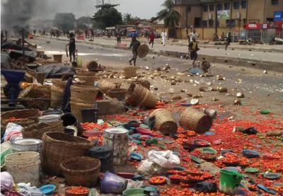 Four injured, five arrested after miscreants, tribal clash in Lagos market
