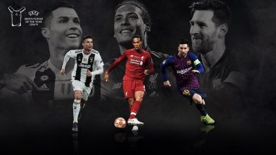Liverpool's Van Dijk battles Ronaldo, Messi, for UEFA award/newsheadline247
