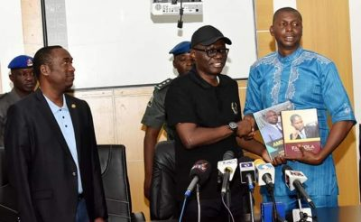 Sanwo-Olu's handlers stumble on error of record in attempt to 'create' history/newsheadline247.com