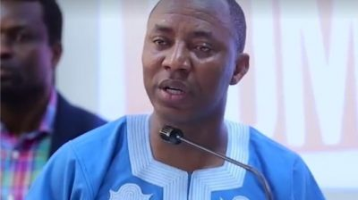 Sowore planned to topple Buhari with #RevolutionNow – DSS/newsheadline247/NAN