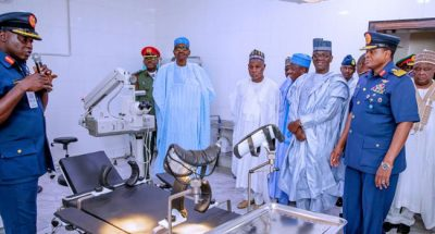 Buhari commissions Air Force Hospital in Daura, says it will serve neighboring states/newsheadline247.com