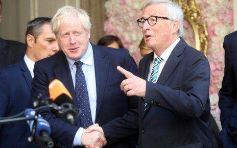 British PM Johnson the Brexit 'Hulk' finally meets EU's Juncker/newsheadline247