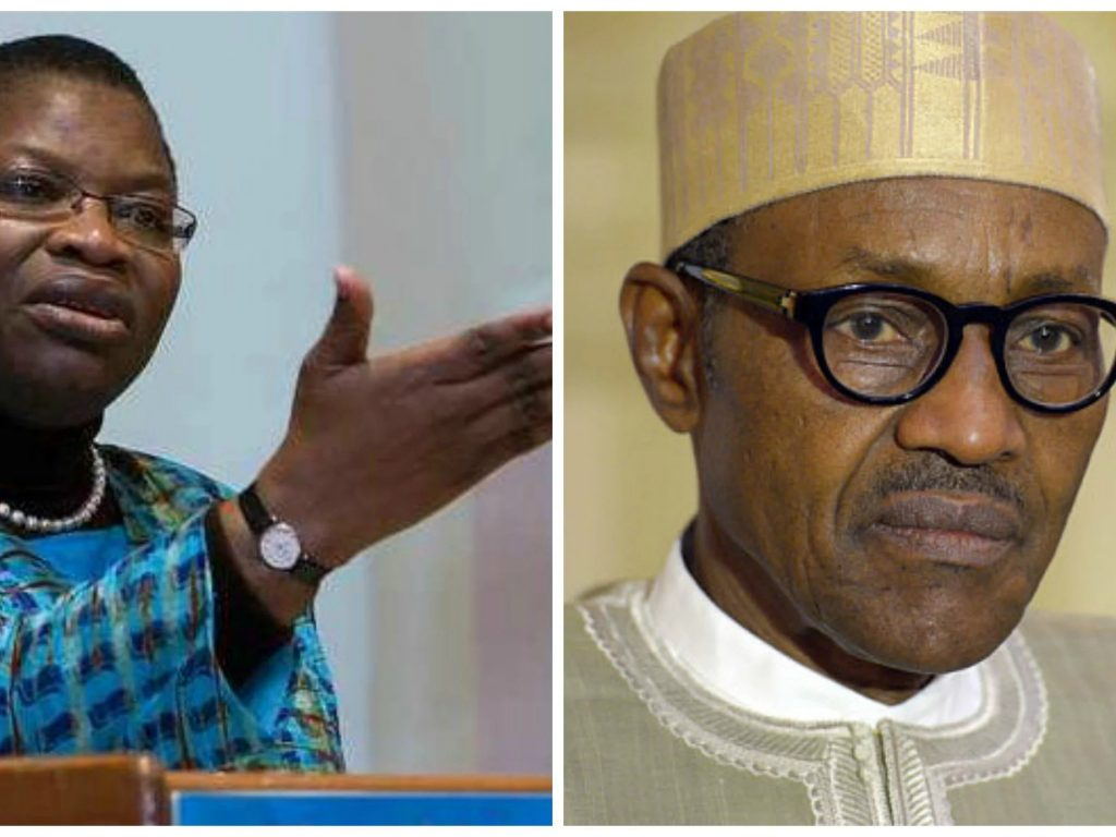 Buhari government out with frustrated strategy to denigrate me for attending WEF in SA: Ezekwesili