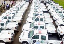 Ogun: Governor Abiodun donates 100 patrol vehicles, bikes to police/newsheadline247