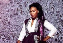 Serena in Nigerian Kimono designer jacket amazes fans/newsheadline247.com