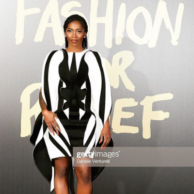 Video: Tiwa Savage gaits runway for Naomi Campbell, promises to do more…/newsheadline247