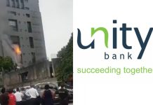 Fire razes parts of Unity Bank Head Office/newsheadline247