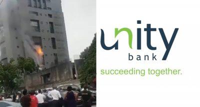 Fire razes parts of Unity Bank Head Office/newsheadline247