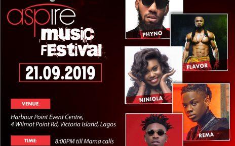 All set as Lagos awaits Zenith Bank's Aspire Music Festival/newsheadline247.co.