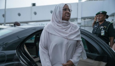 Aisha Buhari attacked us inside Aso Rock – Mamman Daura's daughter claims/newsheadline247.com