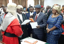 Kogi: Edward Onoja sworn in as Deputy Governor/newsheadline247.com