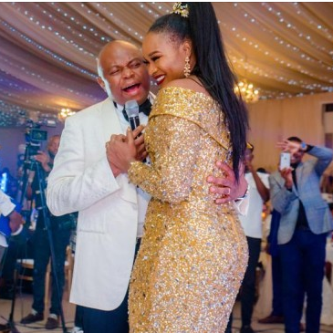 Fidelity Bank MD, Nnamdi Okonkwo throws stunning 50th birthday party for wife, Uche