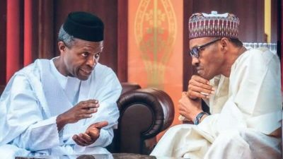 """Osinbajo describes Buhari as """"best boss"""", says I'll remain loyal"""