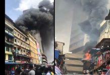 newsheadline247.com/Fire razes popular Balogun Market in Lagos