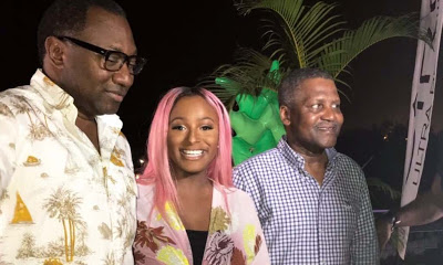 newsheadline247.com/Otedola donates N5bn as Dangote gifts N100m to DJ Cuppy Foundation