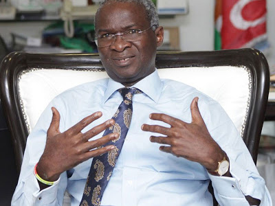 Fashola: I was misquoted on state of roads – denies using the word 'exaggerated'