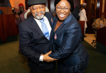 newsheadline247.com/Ngige's wife sworn in as permanent secretary
