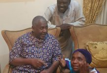 newsheadline247.com/VIDEO: Dasuki walked into his house first time in 4 years