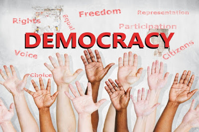 Our Democracy is Young by Wale Adedayo