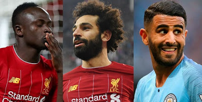 Mahrez, Mane, Salah battle for African Footballer award