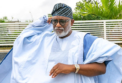 Ondo: No one can stop me from making my son Chief of Staff – Akeredolu