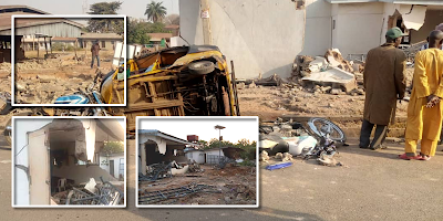 AbdulRazaq-led Kwara govt completes demolition of 'Saraki's' ile arugbo