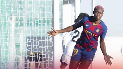Nigerian Asisat Oshola scores four goals as Barcelona win 6-0