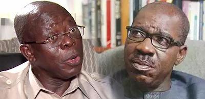 Edo APC Crisis: Obaseki seeks Oshiomhole's arrest, prosecution…writes IG, DSS