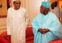 Obasanjo with Buhari/newsheadline247