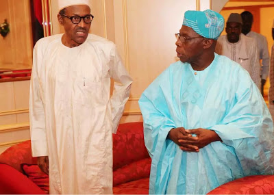 Buhari felicitates with Obasanjo at 83, says 'your commitment to Nigerian nationhood remains outstanding'
