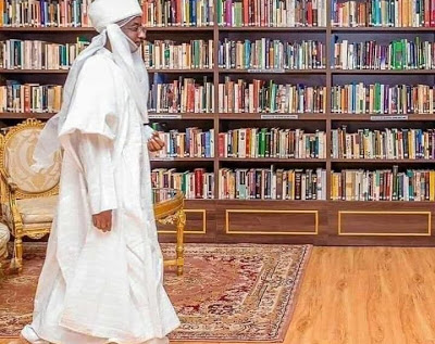 [Photos] Sanusi's N200m library moved out of Kano Emir's Palace