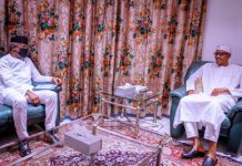 Osinbajo with Buhari/newsheadline247.com
