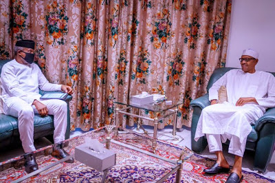 Osinbajo with Buhari/newsheadline247.com