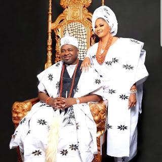 Oba Elegushi and Olori Aramide's 17 unblemished years of blissful marriage!