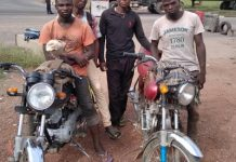 COVID-19 Restrictions: Four arrested in Abeokuta for riding bike from Minna - newsheadline247.com