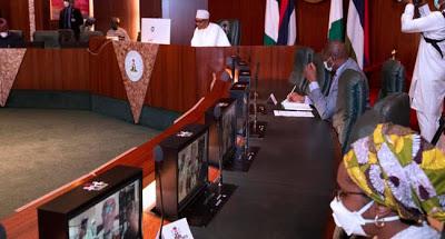 COVID-19: Work closely with PTF, Buhari tasks Nigerian governors - newsheadline247.com