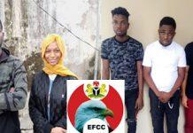 Cyber-fraud: EFCC arrest popular social media influencer Adeherself, four others - newsheadline247