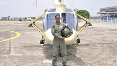 Nigeria's first female combat helicopter pilot Tolulope Arotile, dies at 23 - newsheadline247.com