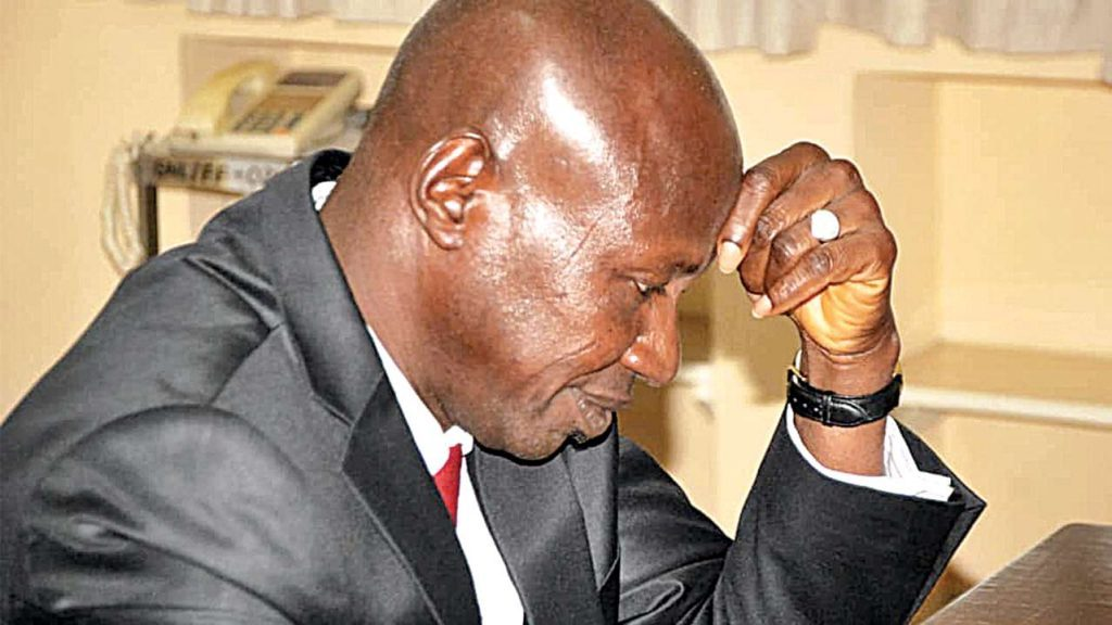 Alleged Fraud: Detained ex-EFCC boss Magu released after Refusal of Bail by the Police