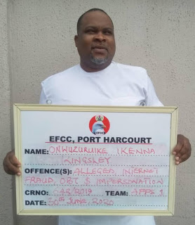 Details: How EFCC nabbed internet fraud kingpin, Onwuzrike over $8.5m - newsheadline247.com