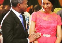 Vice President Yemi Osinbajo in joyous mood as wife, Dolapo clocks 53 - newsheadline247.com